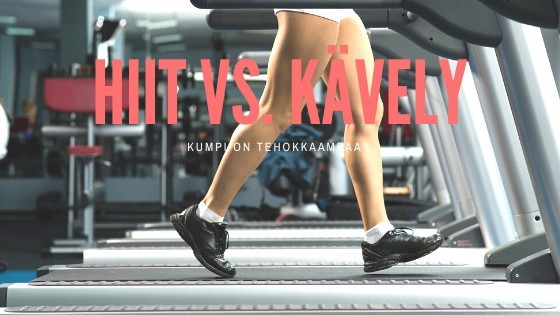 HIIT Vs. Kävely